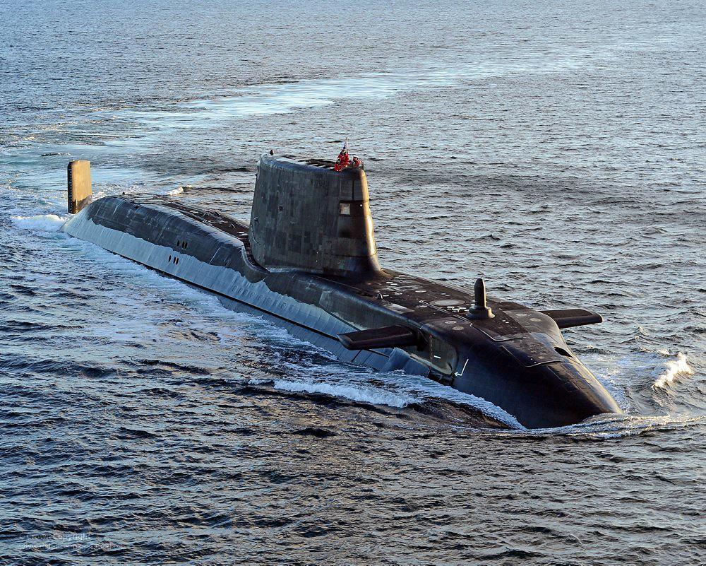 Sottomarino nucleare di classe Astute in forze presso la Royal Navy